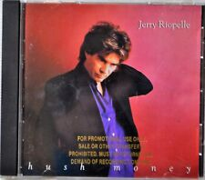 CD Jerry Riopelle Hush Money Real Man Hand in The Heat Bad Rock&Roll CLEAN DISC