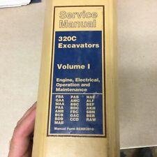 Cat Caterpillar 320c Service Shop Repair Manual Excavator O Amp Maint Renr3812 11