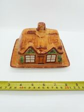 Vintage Westminster Cottage Ware Olde Cottage Butter Dish / Cheese Dish