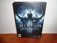 Diablo III Reaper of Souls (Windows/Mac, 2014) Brand New Sealed Expansion Set