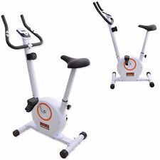 Magnetic Exercise Bike Cycle Fitness 8 Level Cardio Workout Home Trainer Machine