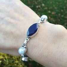 Handmade Sapphire Fine Bracelets