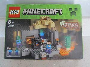LEGO MINECRAFT 21119 THE DUNGEON NEW SEALED DAMAGED BOX