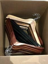 25 Shop Used Assorted Wood Hangers For Suits Shirts Pants