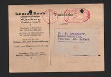Norimberga & Solnhofen-Eichstätt, CARTOLINA POSTALE 1929, cava-proprietario Konrad rugosa