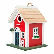 Mewang Hanging Colourful Birdhouse Garden Country Cottages Bird House Condo W.