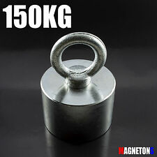 Neodymium Magnets 150KG 45 x 25 Fishing POT Handle Hook METAL DETECTOR Strong