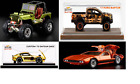 2021 Hot Wheels RLC Lot of 4 - De Tomaso, Datsun, Raptor, & Willy MB SHIPS FAST