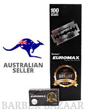 Euromax Platinum Coated Double Edge Razor Blades | AUS SELLER