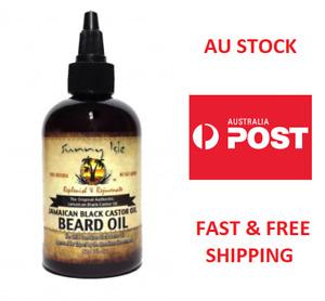 Sunny Isle Jamaican Black Castor Beard Oil 4OZ Replenish & Rejuvenate