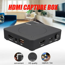 1080P HD Game Capture Card Box HDMI Video Recoder USB Flash Disk TV & Game Live
