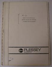 Plessey Aerospace Constant Speed Drive & Starter Type 220 Study Service Failures