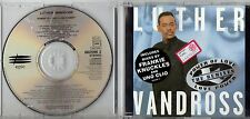 LUTHER VANDROSS CD single 7 tracce  1995 POWER OF LOVE / LOVE POWER
