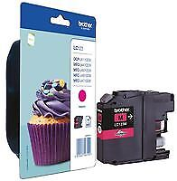 INK CART LC123M MAGENTA BROTHER Computer Products Printer Consumables - CJ66476