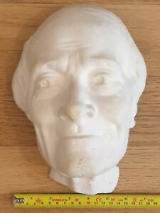 Antique /Vintage Plaster Death Mask / Head - Male Mask - Copy - (Figure 2)