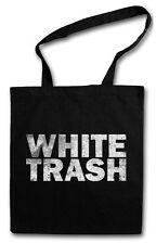WHITE TRASH SHOPPER SHOPPING BAG Hillbilly Redneck Outlaw USA South America