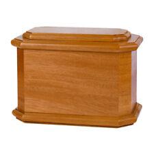 Wood Adult Cremation Urns - Mahogany Diplomat Urn