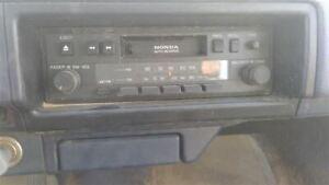 Stock OEM Radio Stereo In Dash 86-87 CIVIC