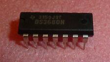 NEW 10PCS TI DS3680N PDIP-14 IC Quad telephone relay driver 10V to -60V 1150mW