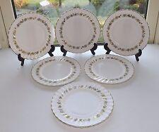 Royal Doulton Fine Bone China Piedmont  H4967 6 x Dessert Plates 1st Quality