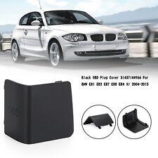 LHD Black OBD Plug Cover 51437144966 Für BMW E81 E82 E87 E88 E84 X1 2004-2015