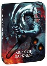 ARMY OF DARKNESS LIMITED EDITION STEELBOOK (2018) 3 DISC SET BRUCE CAMPBELL