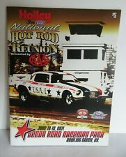 2011 NHRA Holley Hot Rod Reunion Program Beech Bend Raceway Bowling Grn Kentucky