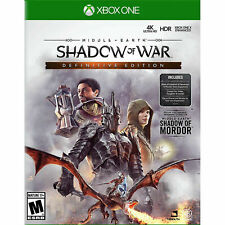 Middle Earth: Shadow Of War (Definitive Edition Xbox One) Brand New (UNOPENED)