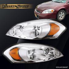 Clear Lens Headlight Set Fit For 06 13 Chevrolet Impala Driverpassenger Side Fits 2006 Impala