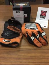 Onyx 2017 Skyler Ewing Autographed Game Used Batting gloves Pair (2) W/COA