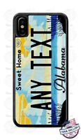 Alabama 2009 License Plate Personalized Phone Case Cover for iPhone Samsung LG
