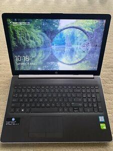 """HP Laptop Core i7 / 8GB RAM / 256GB SSD + 1TB HDD / 15.6"""" FHD NVIDIA / Windows10"""