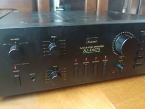 Sansui AU-D607X amplifier audio system equipment stereo music machine efecter