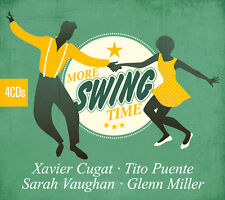 CD More Swing Time D'Artistes Divers 4CDs
