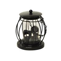 Tenture Métal Lantern Sauvage Oiseau Graine Mangeoire Jardin Cage D'BF045