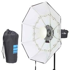 """70cm / 27"""" WHITE Portable Collapsible Beauty Dish Octagon Softbox Bowens Mount"""