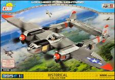 COBI Lockheed P-38L Lightning (5539) - 395 elem. - WWII US heavy fighter