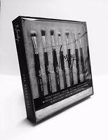 Eye Make up Brushes Set Of 7 Professional Application Nanshy Eye Set Onyx Black