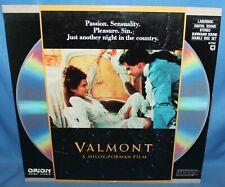 Valmont 1989 Laserdisc Orion Home Video Laser Disc 2 Disc