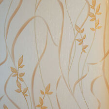Textured and embossed pearl feature wall wallpaper  10m roll