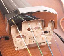Heavy Nickel-Plated Brass Practice Mute: Violin & Viola