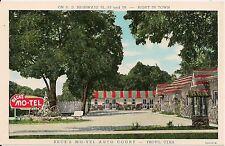 Beck's Mo-Tel Auto Court Provo UT Roadside Postcard
