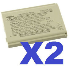 2x NEW OEM Sanyo SCP-27LBPS Battery For Nextel PRO-200 & PRO-700 Taho E4100