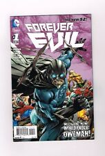 Forever Evil #1 Limited to 1:25 Owlman variant by Ivan Reis! Nm