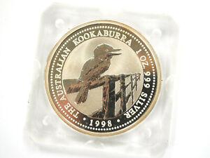 Anlage-Münze - Australien - Kookaburra - 1998 - 1$ - 1Oz Feinsilber