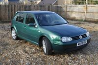 VW Golf MK4 Gti, 2003, six-speed manual, AUQ engine (180hp),