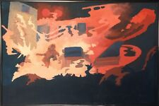 ELP Keith Emerson - Original Painting Art FREE SHIPPING