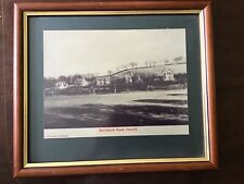 """13.5"""" X 11.5"""" Vintage Framed Photo Of Buccleuch Road Hawick. J Kennedy"""