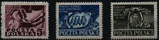 1948 Polska Poland Fi. 482-84** Kongres Jedn.Klasy Robotniczej