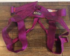 Blue Water- The Climbing Company Nylon Climbing Harness- Purple
